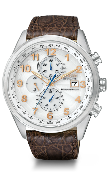World Chronograph A-T | AT8010-23A